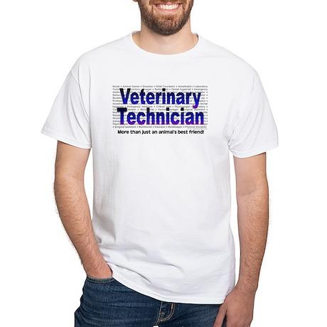 White T-Shirt - More than a Friend