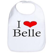 I Heart Belle Bib