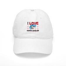 I Love Harpy Eagles Baseball Cap