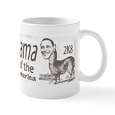 Barack O'Llama 2008 Mug