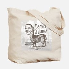 Barack O'Llama 2008 Tote Bag