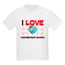 I Love Hammerhead Sharks T-Shirt