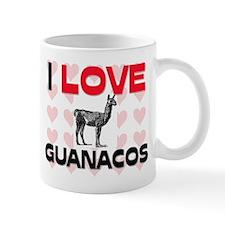 I Love Guanacos Mug
