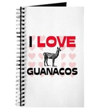 I Love Guanacos Journal