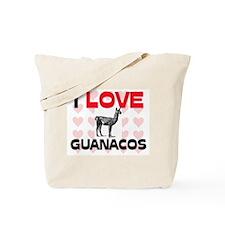 I Love Guanacos Tote Bag