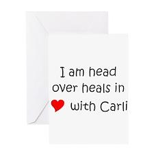 Carli Greeting Card