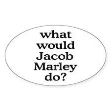 Jacob Marley Oval Decal