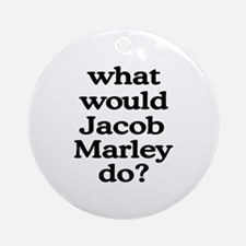 Jacob Marley Ornament (Round)