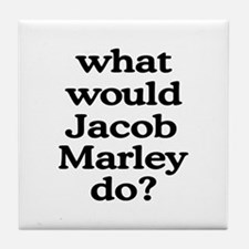 Jacob Marley Tile Coaster