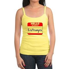 Hello my name is Latanya Jr.Spaghetti Strap