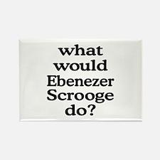 Ebenezer Scrooge Rectangle Magnet
