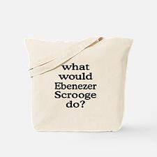 Ebenezer Scrooge Tote Bag