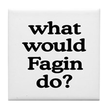 Fagin Tile Coaster