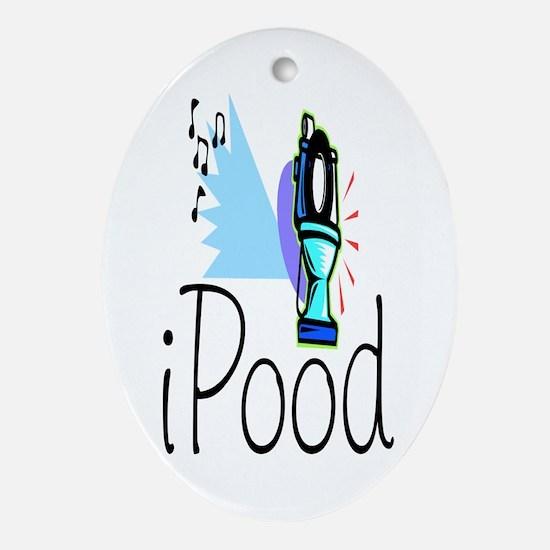 iPood Keepsake (Oval)