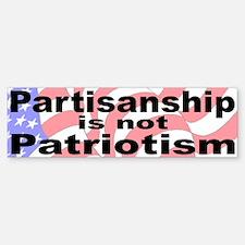 Patriotic Bumper Bumper Bumper Sticker
