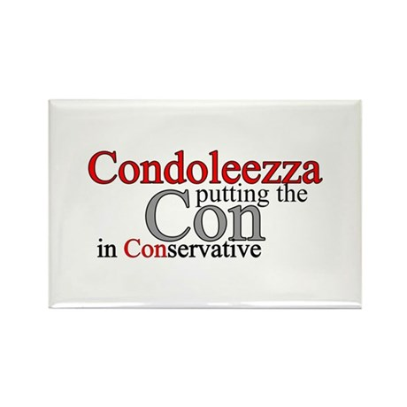 Condoleezza Rice Rectangle Magnet (100 pack)