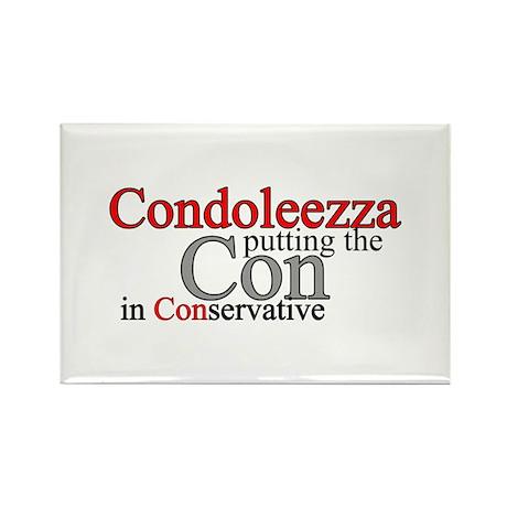 Condoleezza Rice Rectangle Magnet (10 pack)
