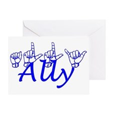 Ally Greeting Card