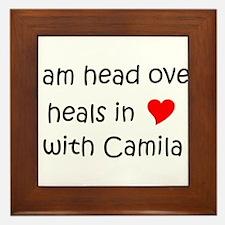 Cute Camila Framed Tile