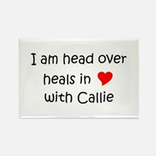 Cute Callie Rectangle Magnet
