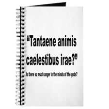 Latin Angry Gods Quote Journal