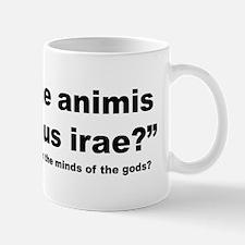 Latin Angry Gods Quote Mug