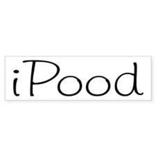 iPood Bumper Bumper Bumper Sticker