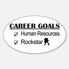Human Resources Career Goals - Rockstar Decal