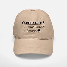 Human Resources Career Goals - Rockstar Baseball Baseball Cap