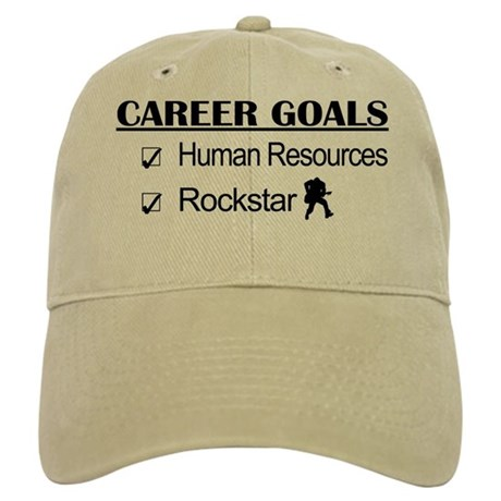 Human Resources Career Goals - Rockstar Cap