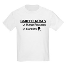 Human Resources Career Goals - Rockstar T-Shirt