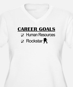 Human Resources Career Goals - Rockstar T-Shirt