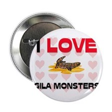"I Love Gila Monsters 2.25"" Button"