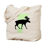 Green Moose Vermont Reusable Tote Bag