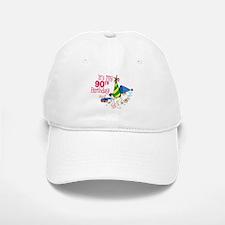 It's My 90th Birthday (Party Hats) Baseball Baseball Cap