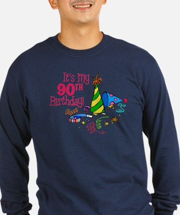 It's My 90th Birthday (Party Hats) T