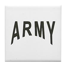 Army Tile Coaster