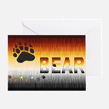 FURRY BEAR PRIDE/WOOF Greeting Card