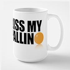 Kiss My Pallino Large Mug