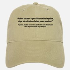 Latin Anti War Imperialsim Quote Baseball Baseball Cap