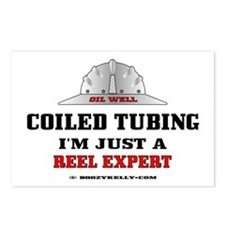 Coiled Tubing Postcards (Package of 8)