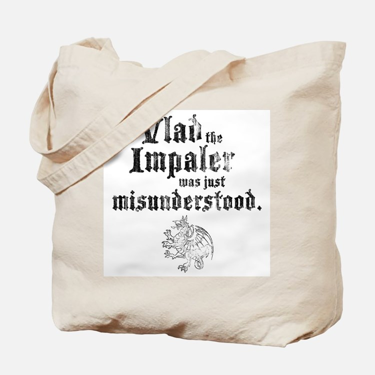 Vlad the Impaler Tote Bag