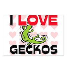 I Love Geckos Postcards (Package of 8)
