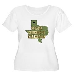 Texas State Cornhole Champion T-Shirt