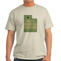 Utah State Cornhole Champion T-Shirt