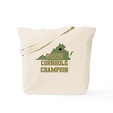 Virginia State Cornhole Champ Tote Bag