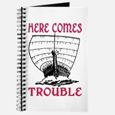 HERE COMES TROUBLE (VIKING) Journal
