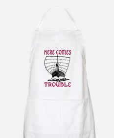 HERE COMES TROUBLE (VIKING) Apron