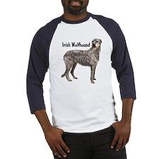 Irish Wolfhound Baseball Jersey