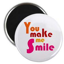 """'You Make Me Smile' 2.25"""" Magnet (10 pack)"""